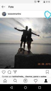 Likes em fotos do Instagram
